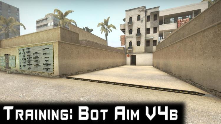 Карта для КС ГО Training: Bot Aim V4C